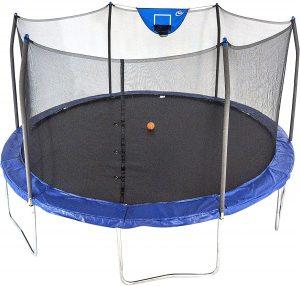Skywalker Trampolines with enclosure & spring pad 15 feet round