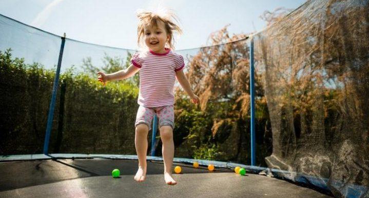 Safe Trampoline for Your Kids