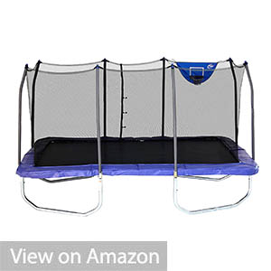 Skywalker 15-Feet Rectangle with Enclosure Trampoline