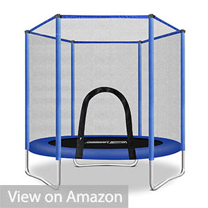 Fashionsport OUTFITTERS Trampoline with Safety Enclosure