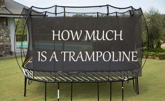 How Much Does A Trampoline Cost?
