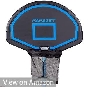 PAPAJET Trampoline Basketball Hoop