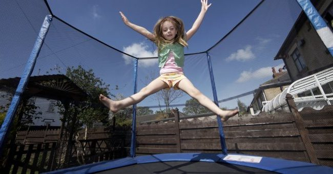 Why is it important to know the trampoline weight limit?