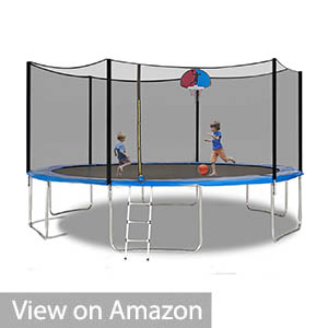 AMGYM Trampoline Safety Enclosure Net