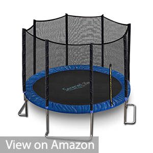 SereneLife Trampoline with Net Enclosure