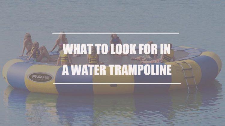A Water Trampoline