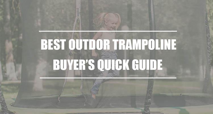 best outdoor trampoline