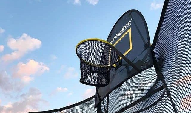 What is a Trampoline Basketball Hoop?