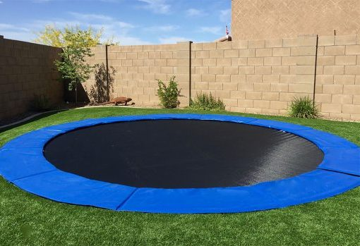 Benefits to In-Ground Trampolines