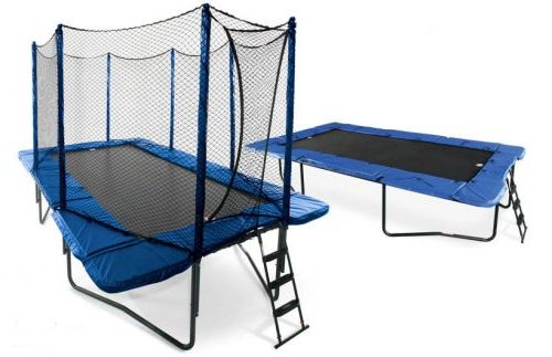 JumpSport 10×17 StagedBounce with Enclosure